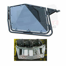 New Black RZR Door + Chrome panel 900 800 570 xp s x + slam latches + 3 switches