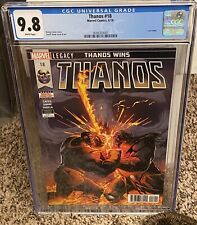 Thanos #18 CGC 9.8 Donny Cates Cosmic Ghost Rider Silver Surfer Black