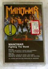 MANOWAR - FIGHTING THE WORLD - Musicassetta Cassette Tape MC K7 Sealed