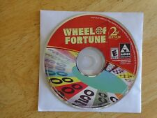 Wheel of Fortune 2nd Edition (PC, 2000)  (New! plain jewel case)