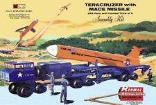 1960s Renwal Teracruzer with Mace Missile model box magnet - new!