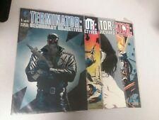 Terminator Secondary Objective 1 2 3 4 Complete Dark Horse Comics Mini Series