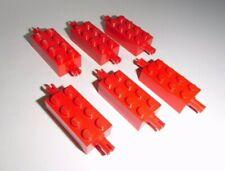 LEGO (6249) 6 assi 2x4x1, in rosso da 10030 6097 4305 3330 5955