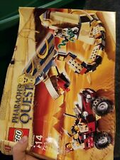 Lego Pharaoh's Quest 7325 Cursed Cobra Statue New, Sealed complete box damaged