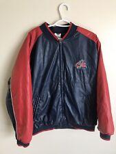 Columbus Blue Jackets NHL Hockey Leather Jacket Large