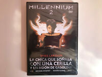 Millennium 2 La Fille Que J' Ai Rêvé Avec Una Allumettes DVD Espagnol Neuf Ovp