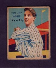 1934 Diamond Stars #45 Jo Jo White Detroit Tigers VG