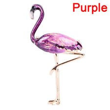 Flamingo Brooch Pins Enamel Collar Brooch Womans Badge,Jewelry Brooch Accessory