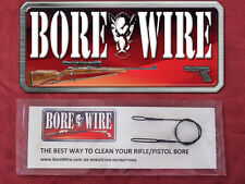 .40 Caliber Pistol Bore Wire HD Bore Cleaning cable - stainless steel - Quality
