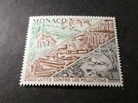 MONACO 1972, timbre 881 LUTTE CONTRE POLLUTION, ANIMAUX, neuf**, VF MNH