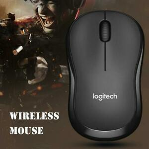 Logitech M185/186 2.4GHz Wireless Mouse 1000 DPI Office Gaming Mice USB Receiver