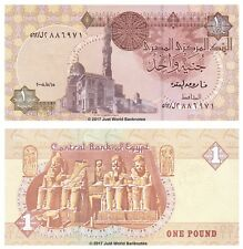 Egypt 1 Pound 2008 P-50m Banknotes UNC