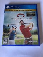 Brand New Factory Sealed Playstation 4 PS4 Game The Golf Club 2 Day One Edition