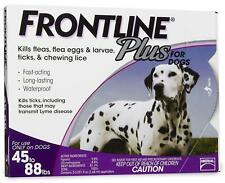 New listing Frontline Plus Flea and Tick Control for 45 to 88-Pound dog. 6 doses, Free ship