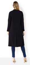 Helene Berman Edge To Edge Longline Throw On Coat Size 10 rrp £125 LS170 CC 04