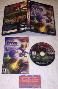 Legend of Spyro: Dawn of the Dragon (Sony PlayStation 2, PS2) Complete CIB VGC