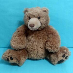 "Gund Kohls Cares Brown Grizzly Bear w/ Claws Plush Stuffed Animal Toy 12"""