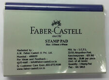 Faber-Castell Stamp Pad  Blue (Violet) Ink Rubber Stamp Ink Pad 110mmx69mm