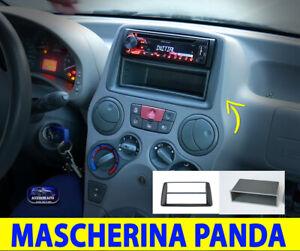 Mascherina Fiat Panda Autoradio 1 Din 169 2003>2011 Radio Stereo Adattatore per