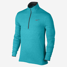 Nike Flex Knit 1/2 Zip Men's Golf Pullover 726580 418 Blue Size Medium (M) NWT