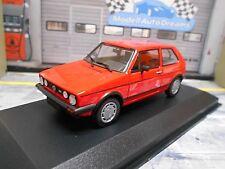 VW Volkswagen Golf GTI 1.8 MKI 1 Pirelli rot red  Maxichamps Minichamps 1:43