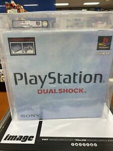 1999 Sony Playstation Console Dual Shock PS1 Factory Sealed VGA GRADE 85+ NM
