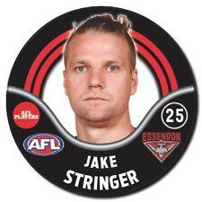 2018 AFL Essendon Player Badge - STRINGER - Jake