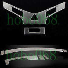 8x Interior Dashboard Gear Middle Console Cover Frame For Chevrolet Cruze 09-14