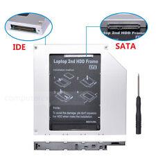 2nd PATA IDE HD HDD SSD Hard Drive Caddy for HP Compaq 8510p 8510w nx6120 NX9420