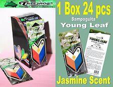 1 Box 24 pack Treefrog Sampaguita YOUNG LEAF  Air Freshener Car- Jasmine Scent