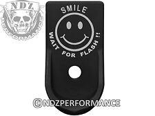 for Glock 43 G43 Grip Extension Magazine Mag Floor Plate BK Smile Wait Flash 5