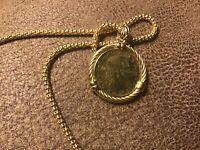 Genuine 200 Lire Gold Coin