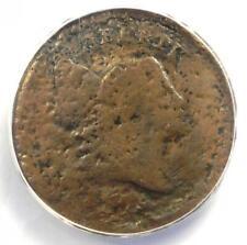 1795 Liberty Cap Flowing Hair Half Cent 1/2C - ANACS VG8 Detail - Rare Coin!