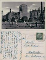 Ansichtskarte Leipzig Augustusplatz - Europahaus 1940