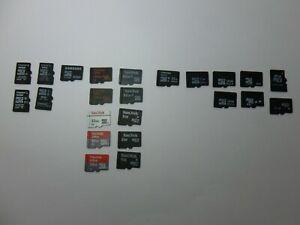Kingston Sandisk Samsung Toshiba Unbranded Micro SD Memory Card choose options
