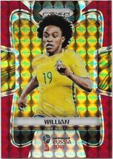 2018 Panini FIFA World Cup Red Mosaic Prizm (26) WILLIAN Brazil