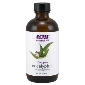 NOW Foods Eucalyptus Oil, 4 oz. FREE SHIPPING. MADE IN USA. FRESH
