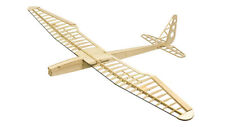Sunbird Electric Glider Laser Cut Balsa Kit 1600mm Balsawood Airplane Model