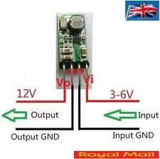 DC- DC Boost Module Converter 3V 3.3V 3.7V 5V 6V to 12V Step-up Power Supply A85