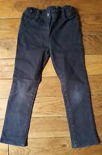 Pantalones Slim de lona Azul Marino CYRILLUS 5 años