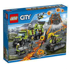 LEGO City Volcano Exploration Base (60124), Brand New