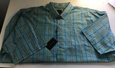 F/X Fushion Mens Button Front SS Shirt Size 4XLT XXXXLT
