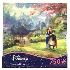 Disney Mulan Thomas Kinkade Ceaco 750 Piece Jigsaw Puzzle USA