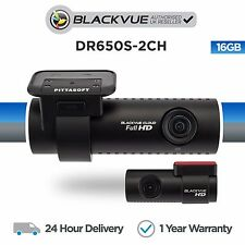 Blackvue DR650S-2CH 16GB Front & Rear Car Dash Cam Camera With Wifi GPS Full HD