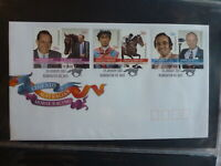 2007 AUSTRALIA LEGENDS OF HORSE RACING SET 6 STAMPS FDC FIRST DAY COVER #2