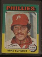 1975 TOPPS BASEBALL MIKE SCHMIDT #70 SET BREAK Philadelphia Phillies HOF VINTAGE