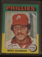 MIKE SCHMIDT 1975 TOPPS BASEBALL #70 SET BREAK  Philadelphia Phillies HOF NICE!