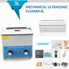 New 3L Liter Industry Ultrasonic Digital Cleaners Cleaning Equipment with Basket