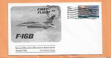 FIRST FLIGHT F-16B AUG 8,1977 FORT WORTH TEXAS