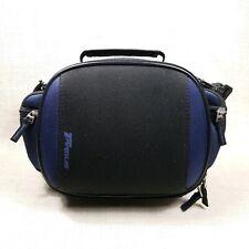 TARGUS Padded Mid Size Front Load CAMERA BAG w/ Pockets Blue Black